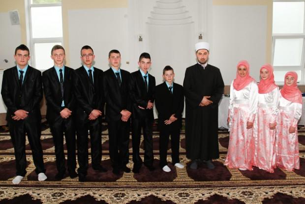 Hatmenska i mevludska svečanost u džematu Rašljani