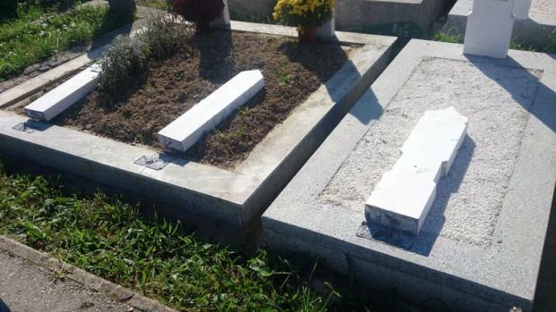 Vandalizam na mezarju u Brčkom