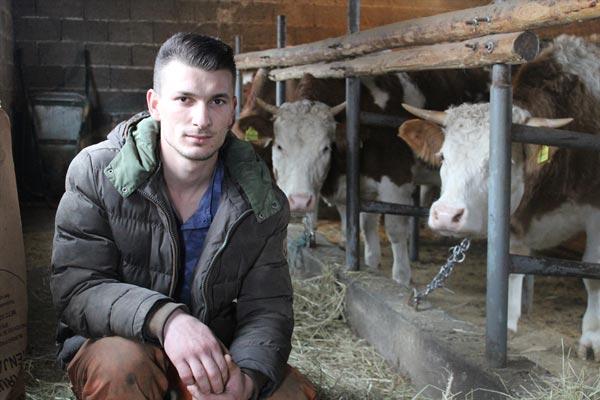 Abid Malić, najmlađi farmer u Srebrenici: Imate slobodu da uspijete ako hoćete