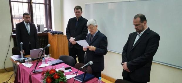 Hafiz Ismail ef. Čehić magistrirao na Fakultetu islamskih nauka