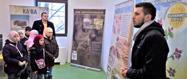 """""""Muzej Allahovog poslanika, Muhammeda a.s."""" posjetilo više od 2.000 osoba"""