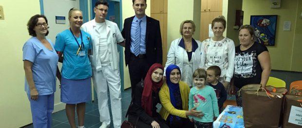 Poklon-paketićima obradovani pacijenti odjela za pedijatriju brčanske bolnice