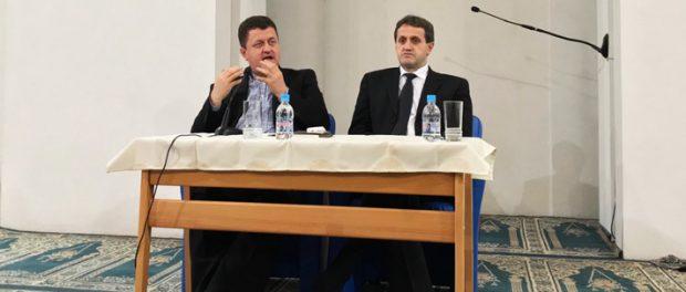 hafiz prof. dr. Safvet Halilović govorio u Bijeloj džamiji