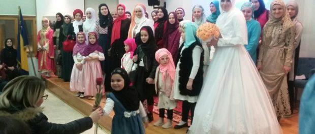 Brčko: Održano predavanje o hidžabu i modna revija žena sa hidžabom