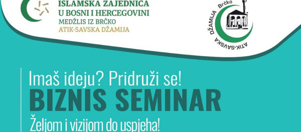 Biznis seminar u organizaciji Atik-Savske džamije