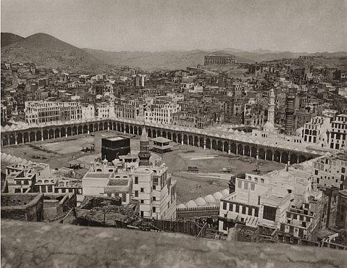 Pogledajte kako je Mekka izgledala 1885. godine