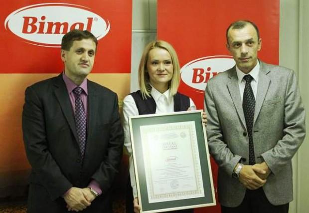 Halal certifikat za Bimal