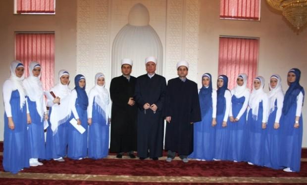 Muftija tuzlanski Vahid ef. Fazlović boravio u radnoj posjeti Medžlisu IZ-e Brčko