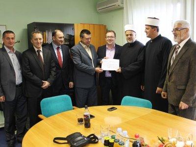Islamska zajednica uplatila preko 200.000 KM za obnove Kantonalne bolnice u Bihaću