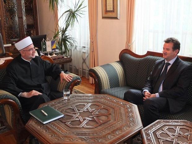 Muftija Fazlović primio premijera Tuzlanskog kantona