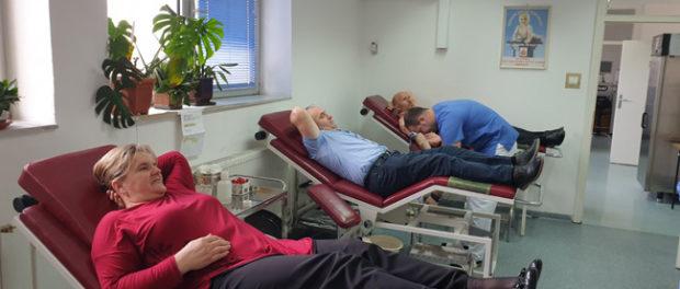 Brčko: Organizirana akcija dobrovojnog darivanja krvi