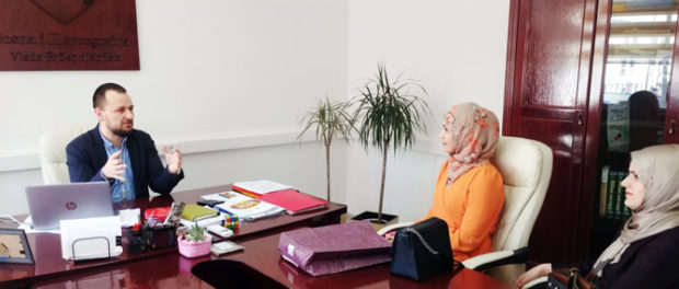 Glavnom koordinatoru Vlade Seadu Šadiću uručena zahvalnica Medžlisa Islamske zajednice