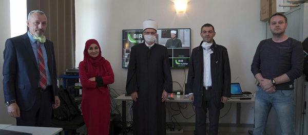 Zamjenik reisu-l-uleme prisustvovao svečanom početku emitiranje BIR Televizije