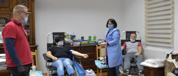 Uspješno realizirana još jedna akcija dobrovoljnog darivanja krvi