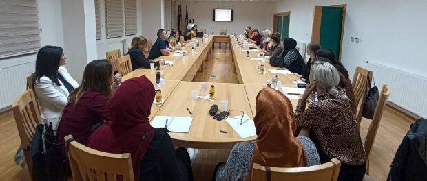 Održano prvo edukativno predavanje Savjetovališta/Kancelarije za brak i porodicu